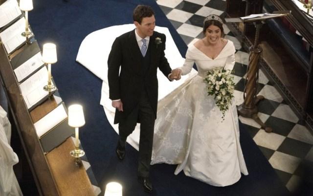 O luxuoso casamento da princesa Eugenie