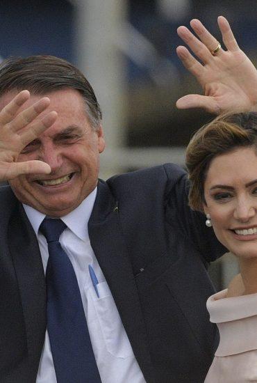 O estilo de Michelle Bolsonaro