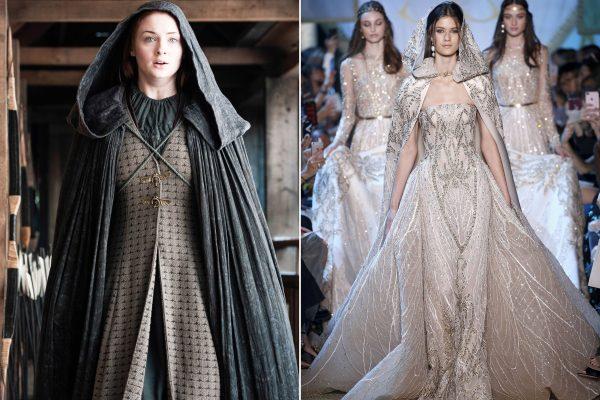 Influência da série Game of Thrones na moda